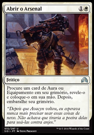 Abrir o Arsenal / Open the Armory-Magic: The Gathering-MoxLand