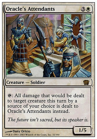 Ajudantes do Oráculo / Oracle's Attendants-Magic: The Gathering-MoxLand