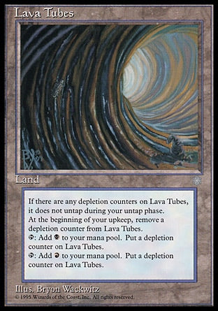 Tubos de Lava / Lava Tubes-Magic: The Gathering-MoxLand