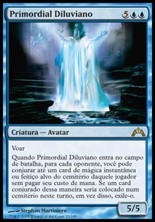 Primordial Diluviano / Diluvian Primordial-Magic: The Gathering-MoxLand