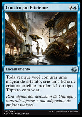 Construção Eficiente / Efficient Construction-Magic: The Gathering-MoxLand
