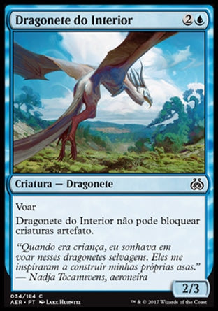 Dragonete do Interior / Hinterland Drake-Magic: The Gathering-MoxLand