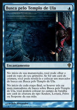 Busca pelo Templo de Ula / Quest for Ula's Temple-Magic: The Gathering-MoxLand