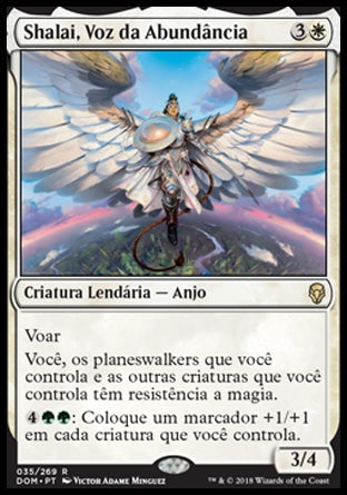Shalai, Voz da Abundância / Shalai, Voice of Plenty-Magic: The Gathering-MoxLand