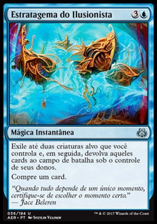Estratagema do Ilusionista / Illusionist's Stratagem-Magic: The Gathering-MoxLand