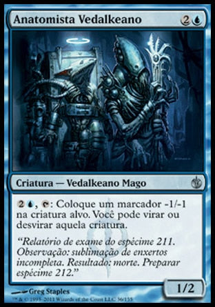 Anatomista Vedalkeano / Vedalken Anatomist-Magic: The Gathering-MoxLand