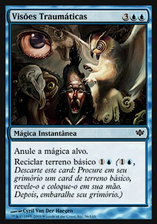 Visões Traumáticas / Traumatic Visions-Magic: The Gathering-MoxLand