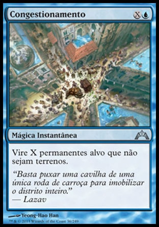 Congestionamento / Gridlock-Magic: The Gathering-MoxLand