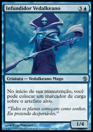 Infundidor Vedalkeano / Vedalken Infuser-Magic: The Gathering-MoxLand