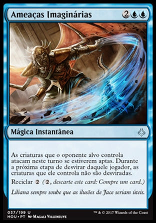 Ameaças Imaginárias / Imaginary Threats-Magic: The Gathering-MoxLand