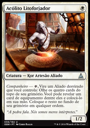 Acólito Litoforjador / Stoneforge Acolyte-Magic: The Gathering-MoxLand