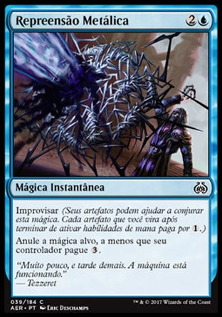 Repreensão Metálica / Metallic Rebuke-Magic: The Gathering-MoxLand