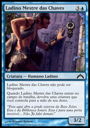 Ladino Mestre das Chaves / Keymaster Rogue-Magic: The Gathering-MoxLand