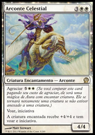 Arconte Celestial / Celestial Archon-Magic: The Gathering-MoxLand