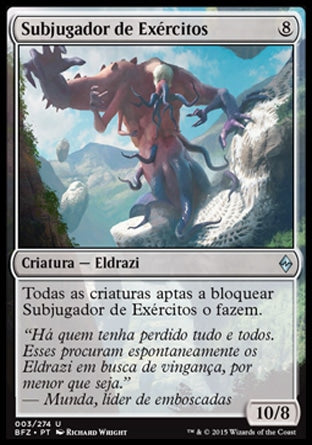 Subjugador de Exércitos / Breaker of Armies-Magic: The Gathering-MoxLand