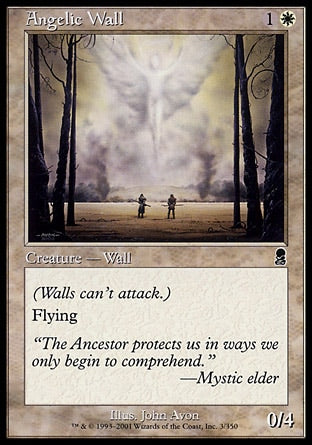 Barreira Angelical / Angelic Wall-Magic: The Gathering-MoxLand