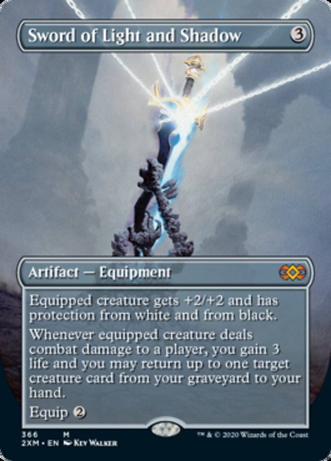 Espada de Luz e Sombra / Sword of Light and Shadow-Magic: The Gathering-MoxLand