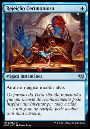 Rejeição Cerimoniosa / Ceremonious Rejection-Magic: The Gathering-MoxLand