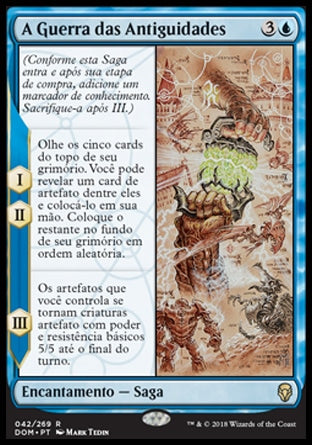 A Guerra das Antiguidades / The Antiquities War-Magic: The Gathering-MoxLand