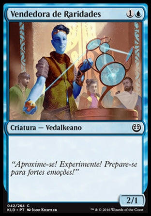 Vendedora de Raridades/ Curio Vendor-Magic: The Gathering-MoxLand