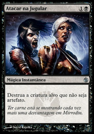 Atacar na Jugular / Go for the Throat-Magic: The Gathering-MoxLand