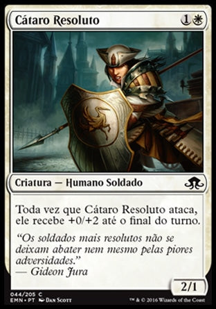 Cátaro Resoluto / Steadfast Cathar-Magic: The Gathering-MoxLand