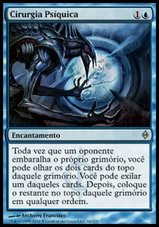 Cirurgia Psíquica / Psychic Surgery-Magic: The Gathering-MoxLand