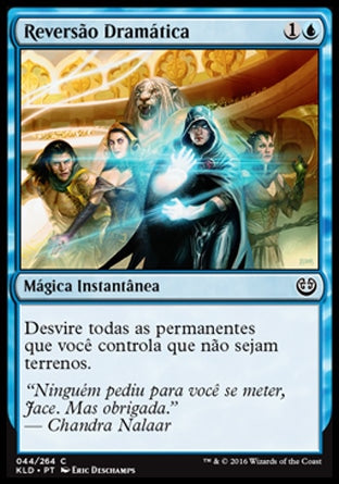 Reversão Dramática / Dramatic Reversal-Magic: The Gathering-MoxLand