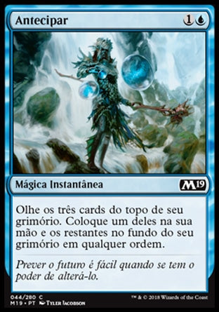 Antecipar / Anticipate-Magic: The Gathering-MoxLand
