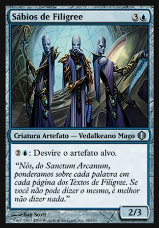 Sábios de Filigree / Filigree Sages-Magic: The Gathering-MoxLand