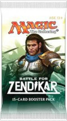 Booster - Batalha por Zendikar / Battle For Zendikar-Magic: The Gathering-MoxLand