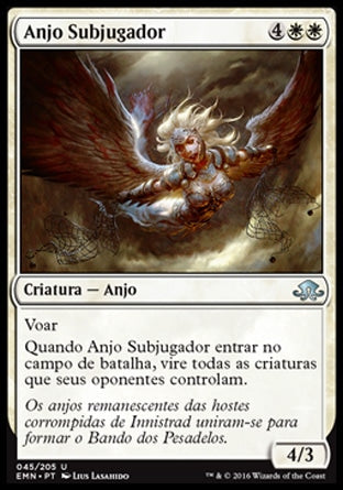 Anjo Subjugador / Subjugator Angel-Magic: The Gathering-MoxLand
