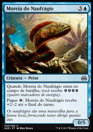 Moreia do Naufrágio / Shipwreck Moray-Magic: The Gathering-MoxLand