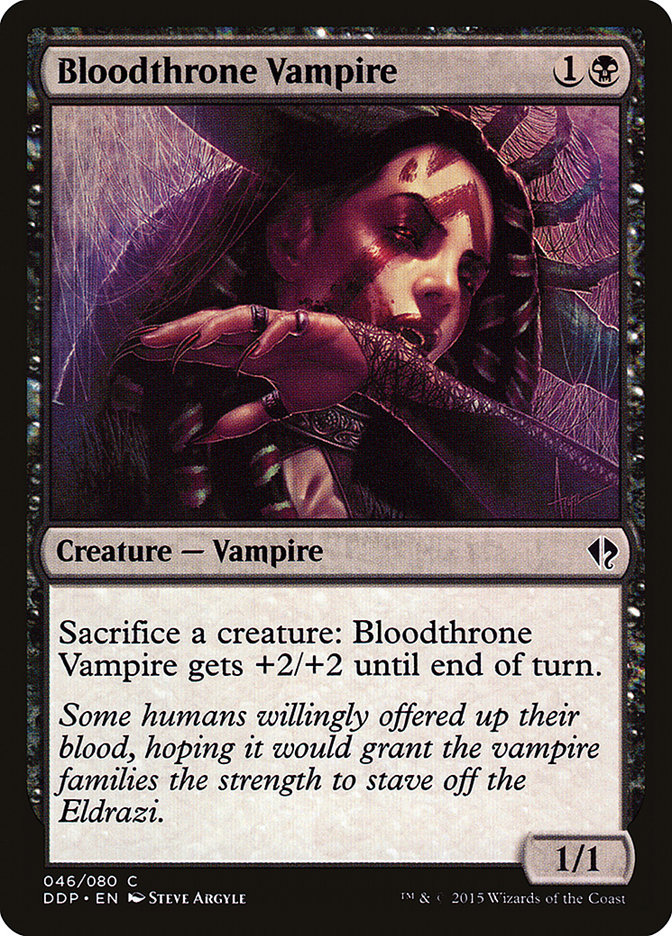 Vampiro do Sangue Real / Bloodthrone Vampire-Magic: The Gathering-MoxLand