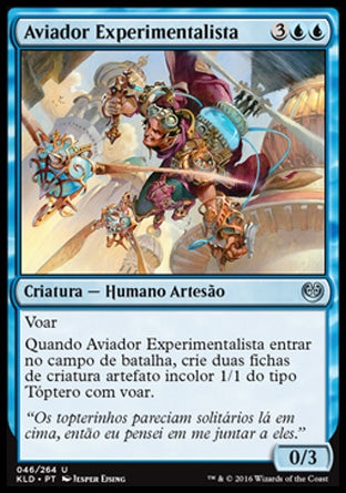 Aviador Experimentalista / Experimental Aviator-Magic: The Gathering-MoxLand