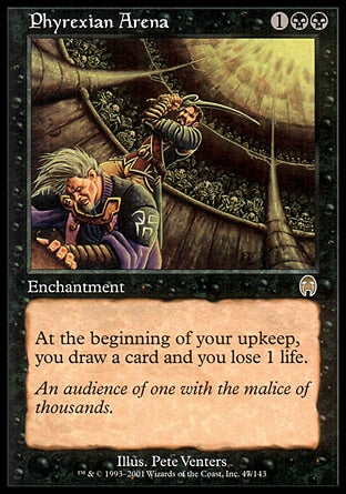 Arena Phyrexiana / Phyrexian Arena-Magic: The Gathering-MoxLand