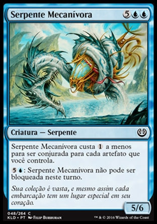 Serpente Mecanívora / Gearseeker Serpent-Magic: The Gathering-MoxLand