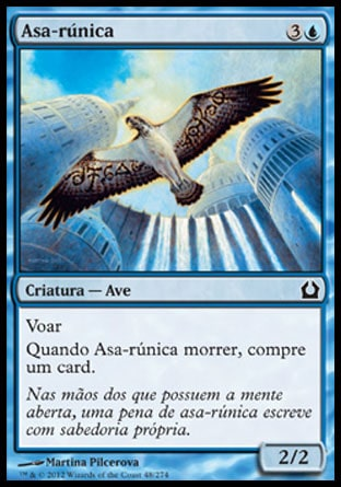 Asa-rúnica / Runewing-Magic: The Gathering-MoxLand