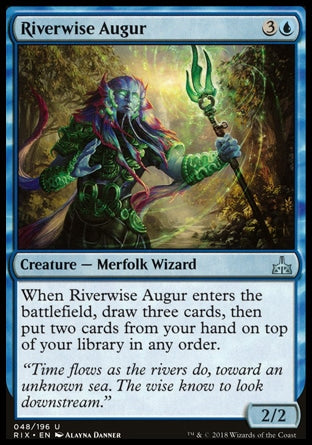 Áugure Fluviossábio / Riverwise Augur-Magic: The Gathering-MoxLand