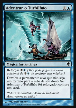 Adentrar o Turbilhão / Into the Roil-Magic: The Gathering-MoxLand