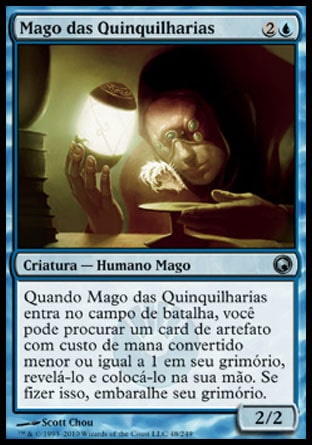 Mago das Quinquilharias / Trinket Mage-Magic: The Gathering-MoxLand