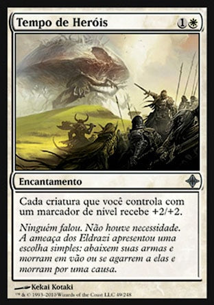 Tempo de Heróis / Time of Heroes-Magic: The Gathering-MoxLand