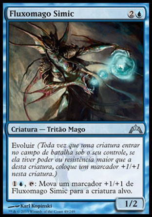 Fluxomago Simic / Simic Fluxmage-Magic: The Gathering-MoxLand