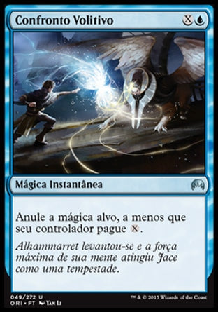 Confronto Volitivo / Clash of Wills-Magic: The Gathering-MoxLand