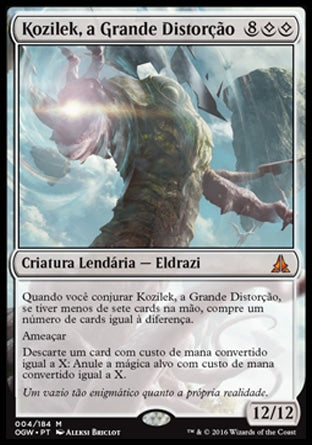 Kozilek, a Grande Distorção / Kozilek, the Great Distortion-Magic: The Gathering-MoxLand
