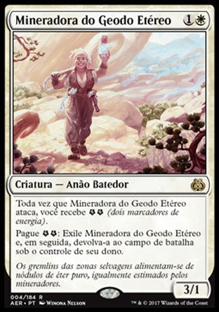 Mineradora do Geodo / Etéreo Aethergeode Miner-Magic: The Gathering-MoxLand