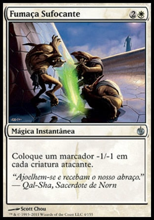 Fumaça Sufocante / Choking Fumes-Magic: The Gathering-MoxLand