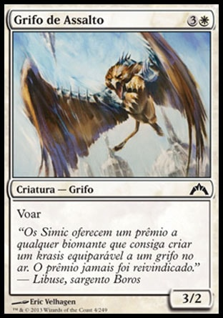 Grifo de Assalto / Assault Griffin-Magic: The Gathering-MoxLand