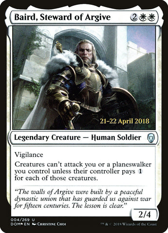 Baird, Guardião do Argivo / Baird, Steward of Argive