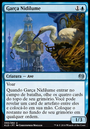 Garça Nidilume / Glint-Nest Crane-Magic: The Gathering-MoxLand